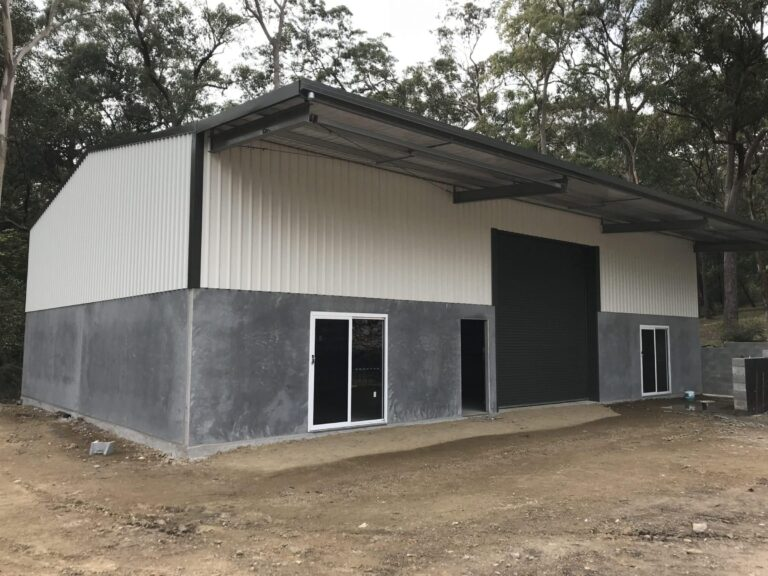 Precast Panels - Garages, Carports and Sheds Newcastle - All Steel Sheds