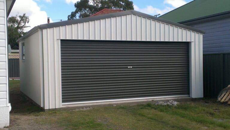 Bowden - Garages & Sheds - Garages, Carports and Sheds Newcastle - All Steel Sheds