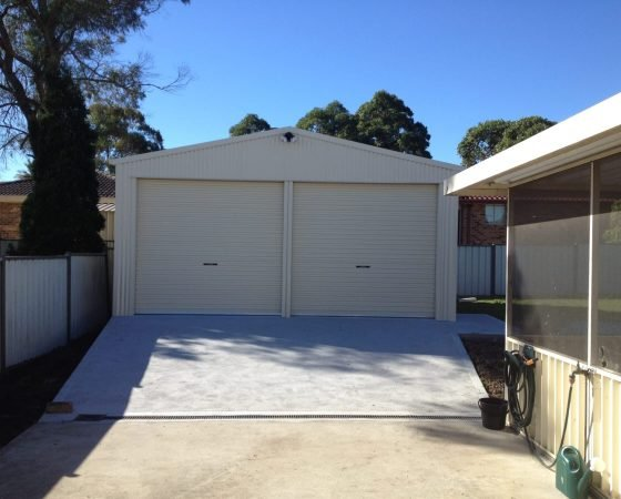 Concreting Services - All Steel Sheds